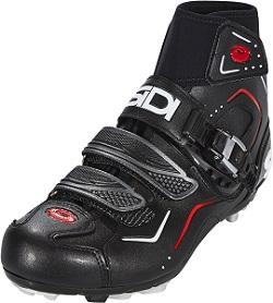 Winter bike shoes