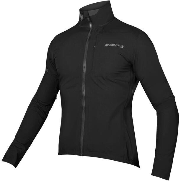 Softshell cycling jacket in black
